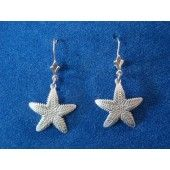 """""""Small Sea Star Earrings"""" Handmade Jewelry 
