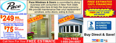Save your home's energy by replacing your windows with Pace Windows and Doors in Rochester!