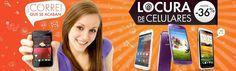 """Hasta 36% de descuento durante la promoción """"Locura de Celulares"""" (marcas disponibles: Samsung, LG Nexus, Motorola, Nokia, Sony y más).   Haz click para ver la oferta: http://cuponesdescuentos.com.mx/marca/1983"""