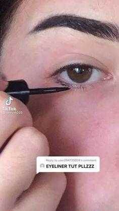 Punk Makeup, Dope Makeup, Indie Makeup, Grunge Makeup, Eye Makeup Art, Pretty Makeup, Makeup Inspo, Beauty Makeup, Makeup Tutorial Eyeliner