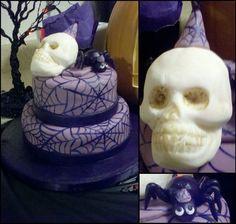 Skull and Spider Cake, Spiderweb