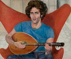 Paul Rosano singing © Sylvia Sleigh