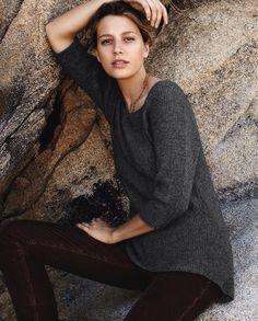Wool Blend Sweater . Poetry