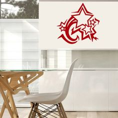 Housewares Vinyl Decal Cute Star Pattern Home Wall Art Decor Removable Stylish Sticker Mural Unique Design for Any Room Decal House http://www.amazon.com/dp/B00D44YZ4G/ref=cm_sw_r_pi_dp_zj-Ttb0ZB4ERZMB3