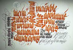 #Calligraphy by Ewa Landowska