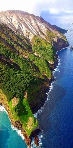 White Island Volcano , Bay of Plenty, New Zealand