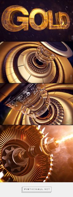 Gold is Gold on Behance - created via https://pinthemall.net