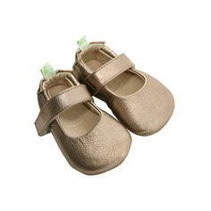 TIP TOEY JOEY DOLLY Baby's first bootees in natural leather with straps
