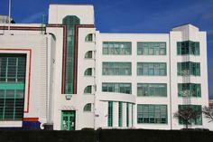 Poirot Locations - The Dream Ok Uk, Hoover Building, Bauhaus Art, London Films, Art Deco Movement, Hercule Poirot, Art Deco Buildings, Filming Locations, Future Travel