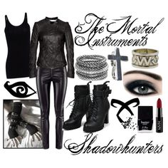 The Mortal Instruments - Shadowhunters Fandom Outfits, Emo Outfits, Disney Outfits, Cute Outfits, Fashion Outfits, Amazing Outfits, Disney Clothes, Zombie Apocalypse Outfit, Apocalypse Fashion