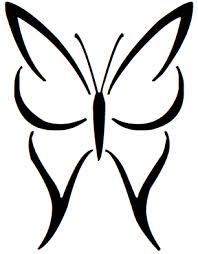 Tribal Butterfly | Tribal butterfly tattoo, Butterfly drawing and ...