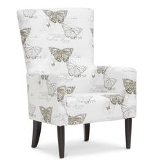 This beige linen accent chair gets its inspiration from its namesake, Carl Linneaus, a Swedish botanist and zoologist who lived during the 1700s.