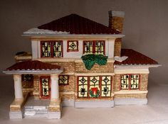 Dept 56 Snow Village Prairie House... I have this one.