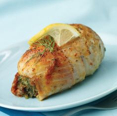 The Northern Belle's Kitchen: Spinach and Crab Stuffed Tilapia