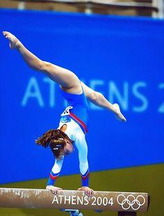 Gymnastics - Anna Pavlova of Russia