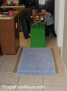 Friction is a Force Science Experiment « Frugal Fun For Boys