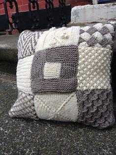 For the knitting adventurer. Great pillow sampler.