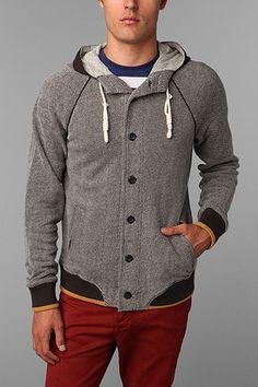++ cpo hooded baseball jacket