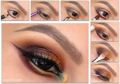 Juvia's Place Nubian 2 Eye shadow Palette Makeup Tutorial