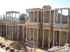 Roman Ruin -Merida, Spain - we toured these ruins on our trip!