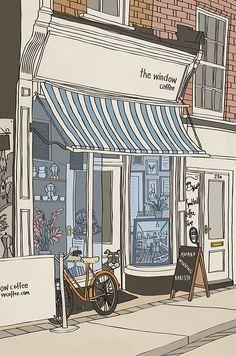 Coffee Shop | Custom Family Portrait | Carl Batterbee | Flickr