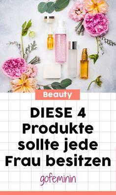 Das sind die 4 Beauty-Must-haves für eine schöne Haut #beauty #pflege #hautpflege #schönehaut #beautytipps