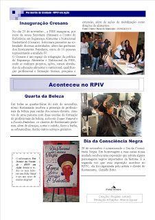 Restaurante Popular do Barreiro: Informativo: Rogério Pinto -auxiliar de cozinha funda informativo interno