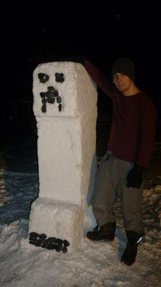 Creeper Snowman