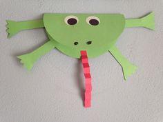 Frog Craft - Princess and the Frog Movie Night Craft - Disney Movie Night