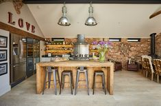 Project 19 – Wighill – The Main Company Kitchen Diner Extension, Open Plan Kitchen Diner, Open Plan Kitchen Living Room, Kitchen Dining Living, Cosy Kitchen, Barn Kitchen, Kitchen Decor, Industrial Style Kitchen, Kitchen Trends