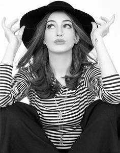 Anne Hathaway- absolutely lovely and talented, but still doesn't take herself too seriously- my favorite quality of an actress
