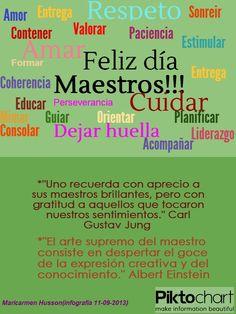 Feliz ´Día del Maestro! 11-09- 2013