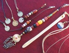 Recycle Reuse Renew Mother Earth Projects: How to make Pirate Dread beads :: Shop DreadStop.Com for Leather Dreadlock Cuffs, Ties & Dread Beads #dreadstop