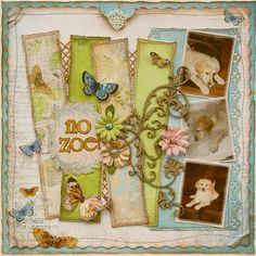 Such a Pretty Mess: Sketch Layout for Bo Bunny! And a Sprinkle of Dusty Attic!