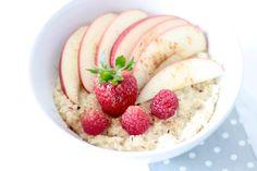 Hirse-Porridge zum Frühstück