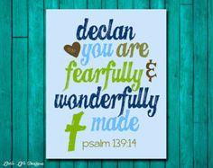 Zephaniah 3:17. Scripture. Bible Verse. by LittleLifeDesigns