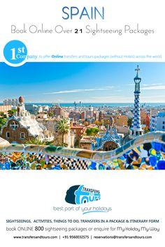 Exotic & Wonderful Spain Sightseeing Packages.. #spain #Europe #EuropeTour #holidays #sightseeing