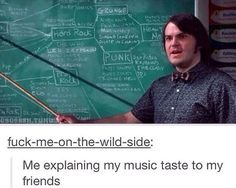 "School of Rock /// ""so. what's your taste in music?"" Heh// the thing i say is simply emo Nu Metal, Black Metal, Music Bands, Emo Bands, Music Is Life, My Music, Music Lyrics, Stupid Funny, Hilarious"
