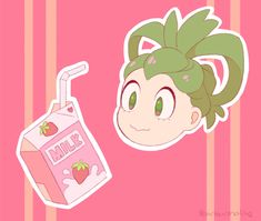 Just Love, Love Her, Maybe Tomorrow, Tsuyu Asui, Strawberry Milk, Boku No Hero Academia, Geek Stuff, Cute, Fictional Characters