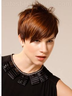 Stunning and gorgeous asymmetrical pixie cuts. Different pixie according to face shape and hair texture Short Sassy Hair, Short Hairstyles For Thick Hair, Short Hair With Layers, Best Short Haircuts, Pixie Hairstyles, Cool Hairstyles, Gorgeous Hairstyles, Layered Hairstyles, Pixie Haircuts