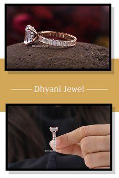 Moissanite Engagement Ring, 3CT Emerald Shaped Ring, Emerald Ring For Her, Engagement Gift, Rose Gold Promise Ring, Custom Rings For Women #emeraldstone #proposering #moissaniteringsset #moissanitering14k #3carats #ringforher #ringforwomen #moissaniteringsforwomen #moissaniteco #moissaniteringshopping #moissaniteringstore #moissanites #diamondringforsaleph #diamondring💍 #18k #emeraldstone💚 #emeraldring #moissanitediamondring #emrerald #emeraldengagementring #vintageengagementring