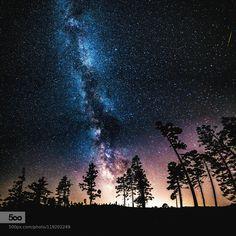 Galactic Shadows by Joshwallace #nature