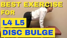 This video shows the best exercises for lumbar disc tear or disc herniation. Best Exercise For Disc Bulge Best Exercise For Disc Herniation by Ch. Bulging Disc In Back, Herniated Disc Lower Back, Lumbar Disc, Lumbar Pain, Spine Pain, Hip Pain, Knee Pain, Lower Back Pain Exercises, Disk Herniation