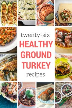 You will love these healthy ground turkey recipes that are full of flavor, easy…
