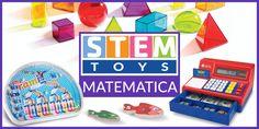 11 giocattoli educativi per divertirsi con la matematica Abbiamo raccolto in una lista i migliori giochi per avvicinare i bambini ai numeri e alla matematica. La maggior parte di questi giocattoli sono dedicati ai bambini più piccoli, per aiutarli a conosc
