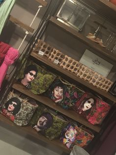Fashion accessories, hand painted bags at Mada store Jeddah