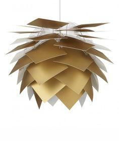 Large Pine Cone Shape Pendant - 7 Colours
