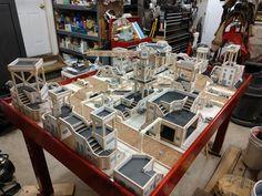 Warhammer Terrain, 40k Terrain, Game Terrain, Wargaming Table, Wargaming Terrain, Tabletop Rpg, Tabletop Games, Modern Game Tables, Infinity Table