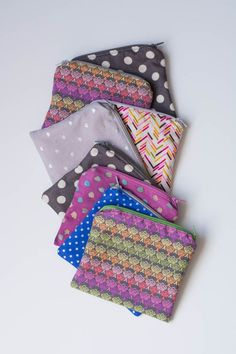 Make something handmade. Make an easy zipper pouch. It's the easiest project. Perfect for novice sewers! | thisheartofmineblog.com