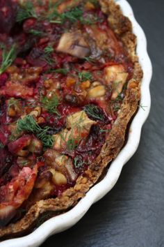 Beetroot, Goats Cheese & Walnut Tart, I need to pin things when I know I can make it right now